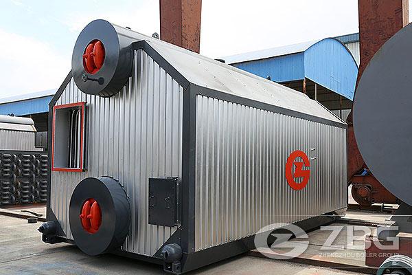 6t/h caldera de vapor de biomasa de Indonesa